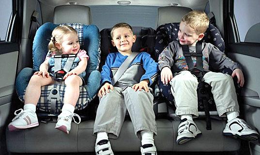 Правила перевозки детей