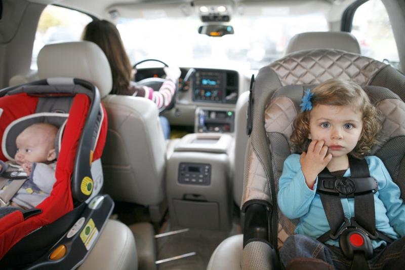 перевозка детей до года