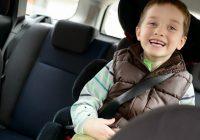 с какого возраста можно не использовать детское автокресло
