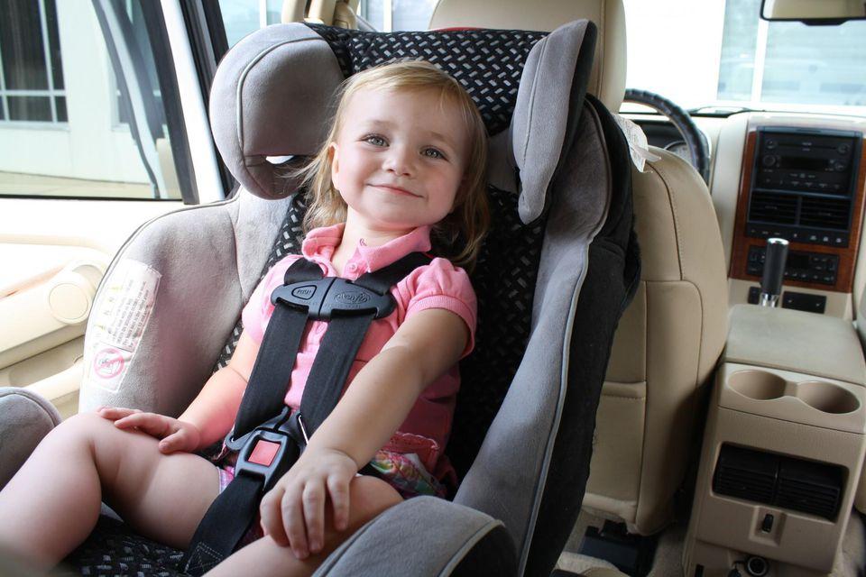перевозка детей в автомобиле 2018